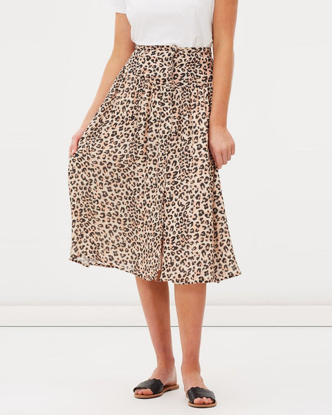 CHARLIE HOLIDAY- FELINE MIDI SKIRT