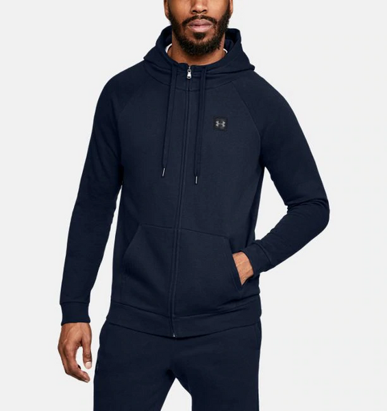 UNDER ARMOUR- MEN'S RIVAL FLEECE FULL-ZIP
