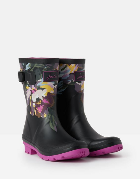 JOULES- MOLLY MID HEIGHT PRINTED WELLIES