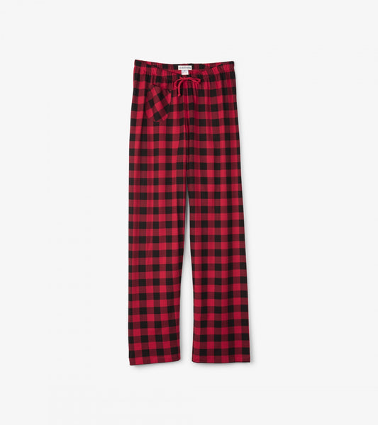 HATLEY- BUFFALO PLAID WOMEN'S JERSEY PJ PANTS