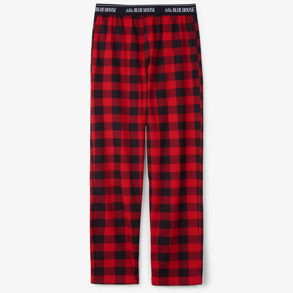 HATLEY- Buffalo Plaid Jersey Pants