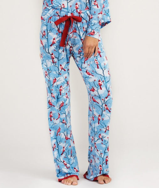 HATLEY- CARDINAL COZY LOUNGE BOTTOMS