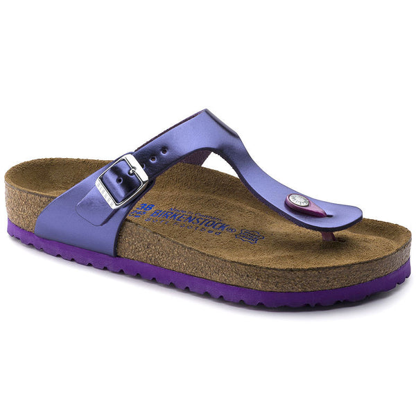 BIRKENSTOCK- GIZEH SOFT FOOTBED