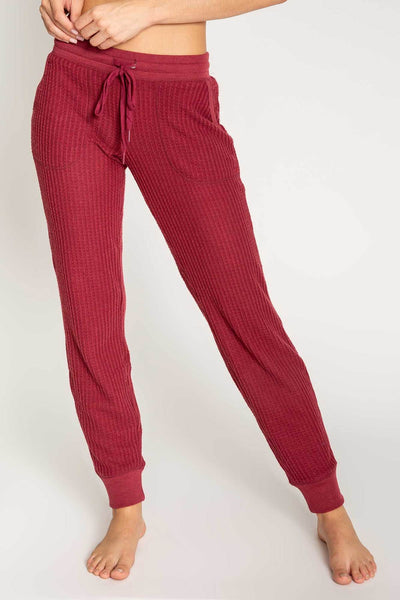 PJ SALVAGE- PEACHY IN COLOUR BANDED PANT (more colours)