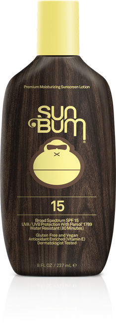 SUN BUM- SPF 15 Original Sunscreen Lotion - 8oz