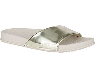SPERRY- SHELL SLIDE SANDAL