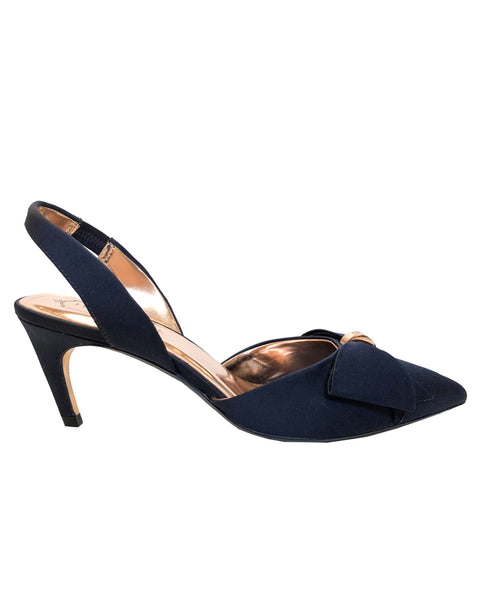 TED BAKER - LADIES NAVY AIDELA DRESS SHOE 918506