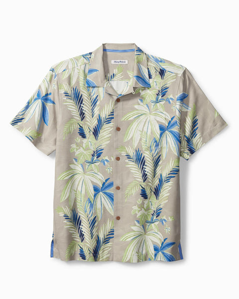 TOMMY BAHAMA- SISTINE VINES ISLANDZONE CAMP SHIRT
