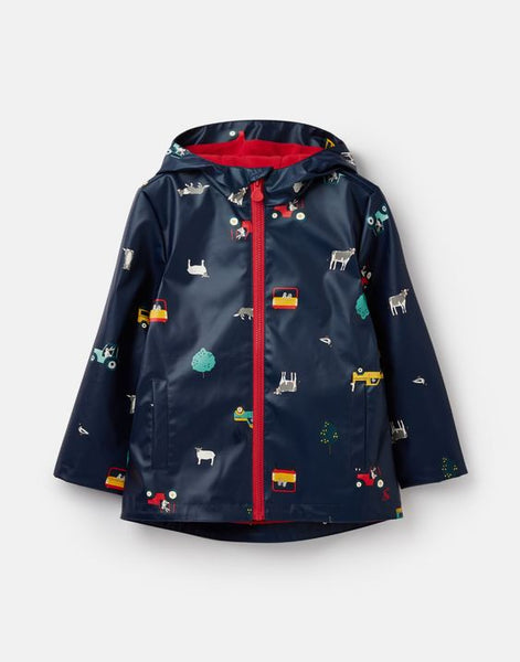 JOULES- SKIPPER 30TH ANNIVERSARY SHOWERPROOF RUBBER COAT 1-6 YEARS