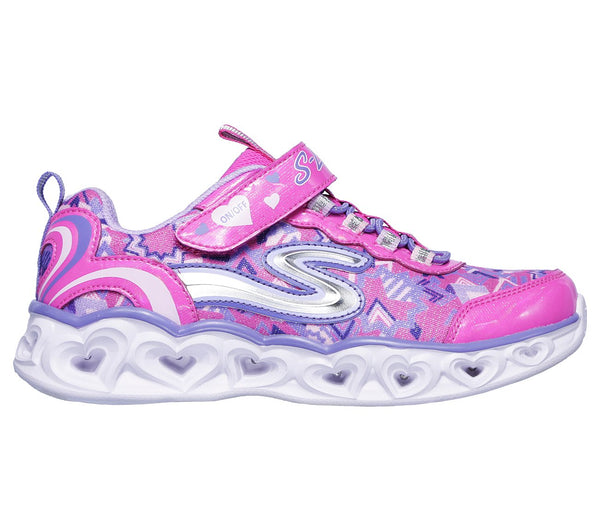 SKECHERS- YOUTH- LIGHTS: HEART LIGHTS