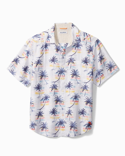 TOMMY BAHAMA- SUNSET PALM CAMP SHIRT