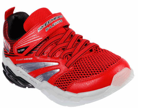 SKECHERS - YOUTH RAPID FLASH 2.0 RED