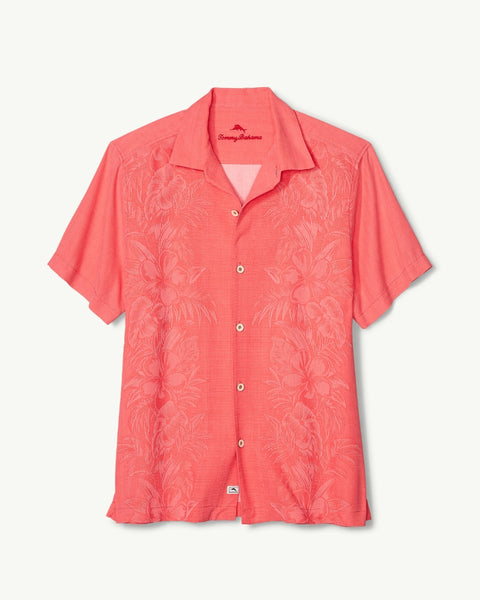 TOMMY BAHAMA- KAMARI BORDER CAMP SHIRT