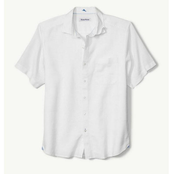 TOMMY BAHAMA- COSTA TAUTIRA STRETCH-LINEN CAMP SHIRT