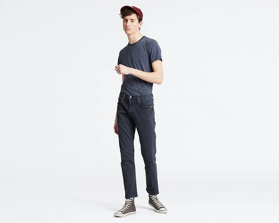 LEVI- 502 TAPERED FIT ADVANCED STRETCH JEANS
