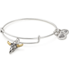 ALEX AND ANI- Spirited Skull Charm Bangle