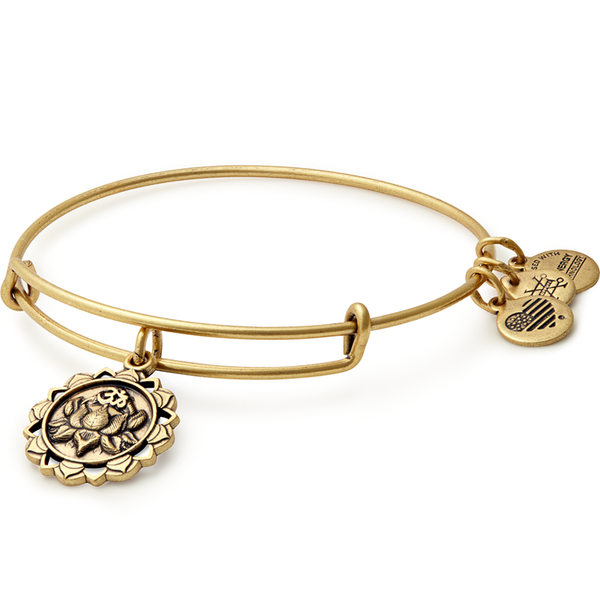 ALEX AND ANI- LOTUS PEACE PETALS Charm Bangle