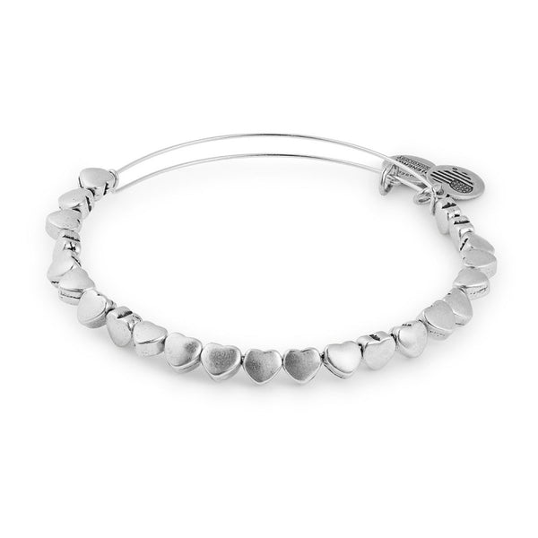 ALEX AND ANI- Heart Beaded Bangle