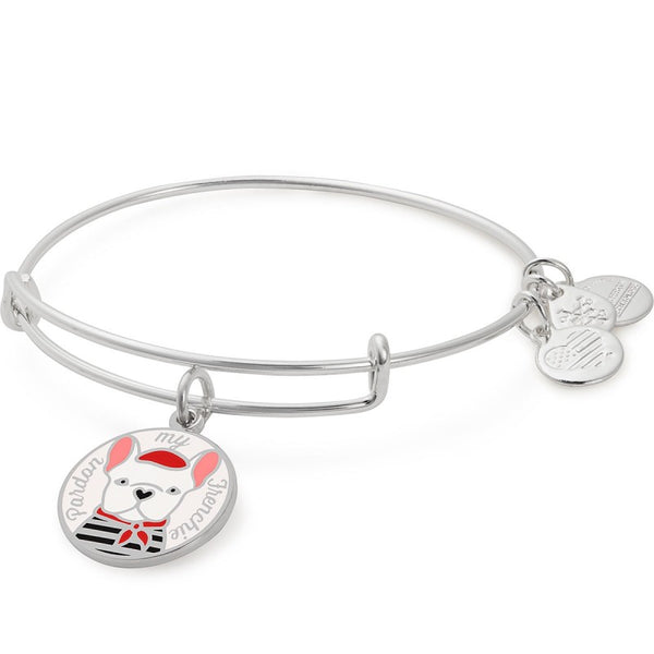 ALEX AND ANI- Pardon My Frenchie Color Infusion Charm Bangle
