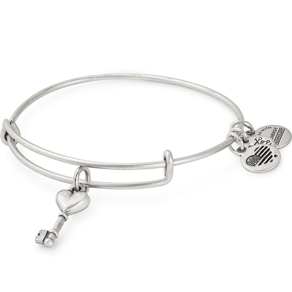 ALEX AND ANI- Key to Love Charm Bangle