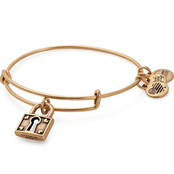 ALEX AND ANI- Unbreakable Love Charm Bangle