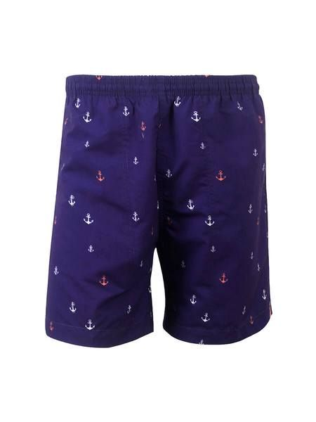 WEEKENDER- MEN'S PRINT SWIM TRUNK- ANCHORS AWAY