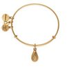 ALEX AND ANI- April Birth Month Charm Bangle With Swarovski® Crystal