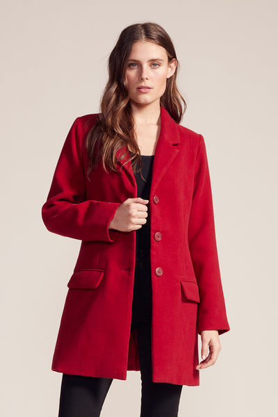 BB DAKOTA- WHISKEY BUSINESS TWILL COAT