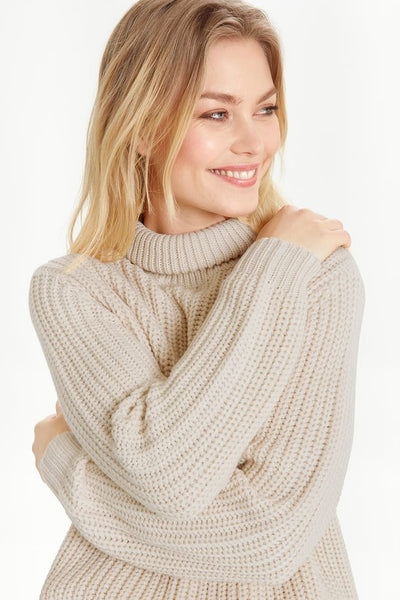 B.YOUNG- BYMARISA KNITTED PULLOVER