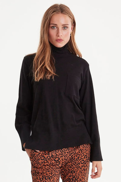 ICHI- KAVA KNITTEDN PULLOVER (more colours)