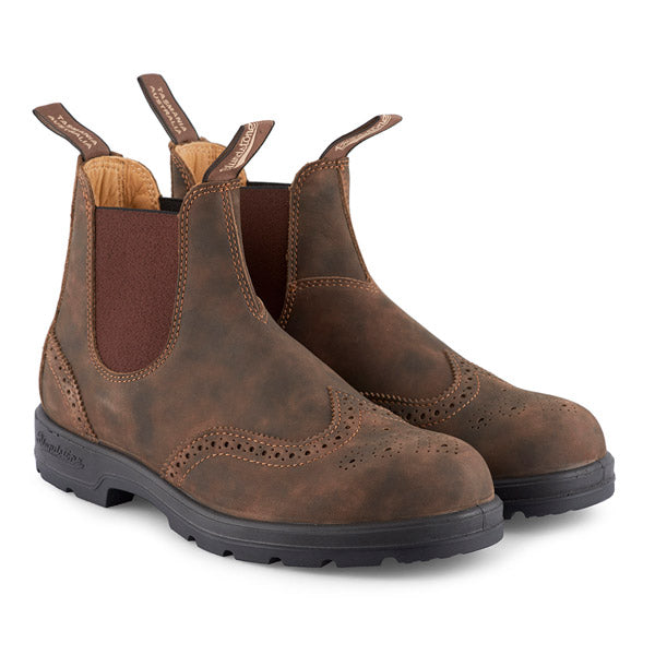 Blundstone- Men's 1471 - The Leather Lined Brogue in Rustic Brown