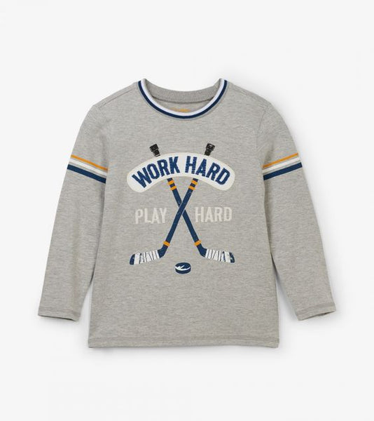 HATLEY- HOCKEY LEAGUE LONG SLEEVE TEE