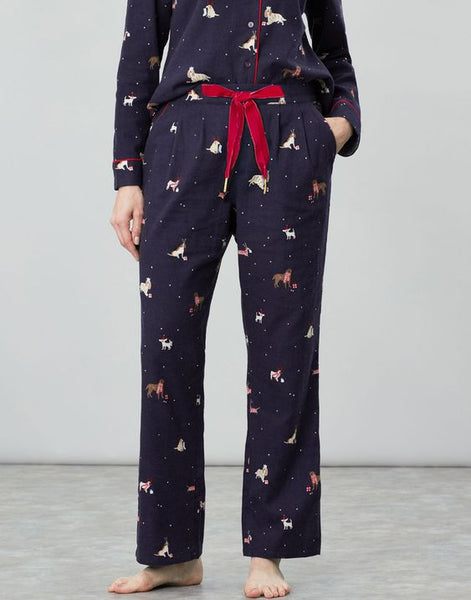 JOULES- SNOOZE WOVEN PAJAMA BOTTOMS