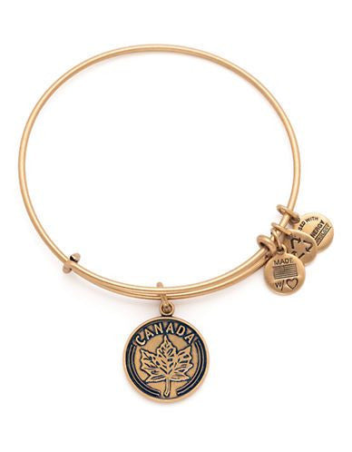 ALEX AND ANI- Places We Love Canada Maple Leaf Bangle