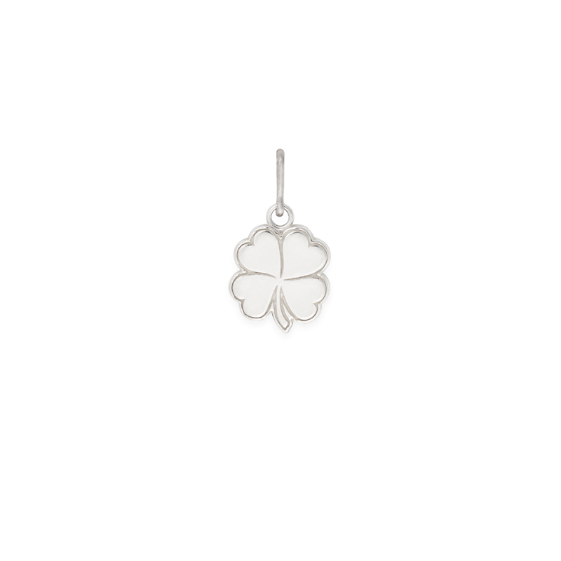 ALEX AND ANI- Four Leaf Clover Necklace Charm