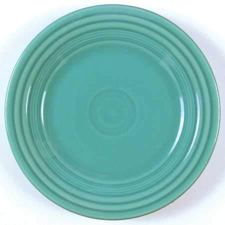 FIESTA- LUNCHEON PLATE TURQUOISE