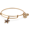 ALEX AND ANI- Starfish Charm Bangle