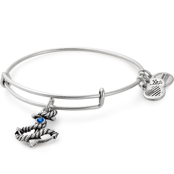 ALEX AND ANI- Anchor Charm Bangle