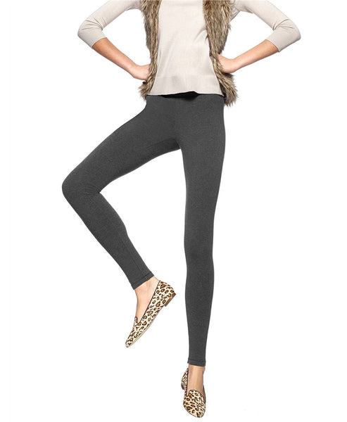 HUE- ULTRA LEGGINGS WITH WIDE WAISTBAND