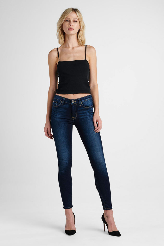 HUDSON- NICO MIDRISE ANKLE SUPER SKINNY JEANS