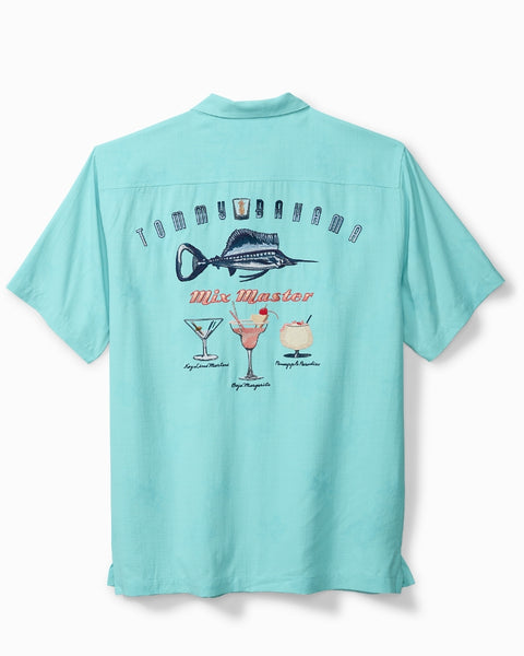 TOMMY BAHAMA- MARLIN MIX CAMP SHIRT