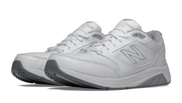NEW BALANCE- MEN'S WHITE LEATHER 928v2