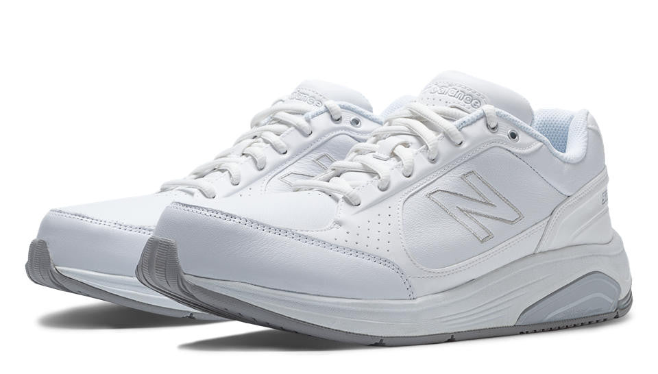 New Balance- Men's White Leather 928