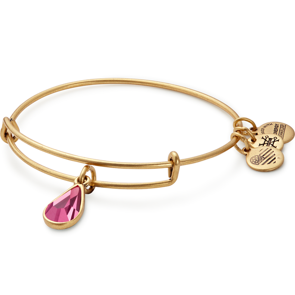 ALEX AND ANI- October Birth Month Charm Bangle With Swarovski® Crystal
