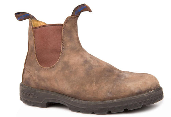 BLUNDSTONE- 584 WINTER RUSTIC BROWN