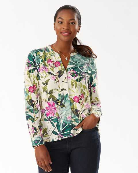 TOMMY BAHAMA- STARLIGHT CANYON SILK SHIRT