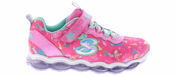 SKECHERS - YOUTH GLIMMER LIGHTS MERMAID SHOE