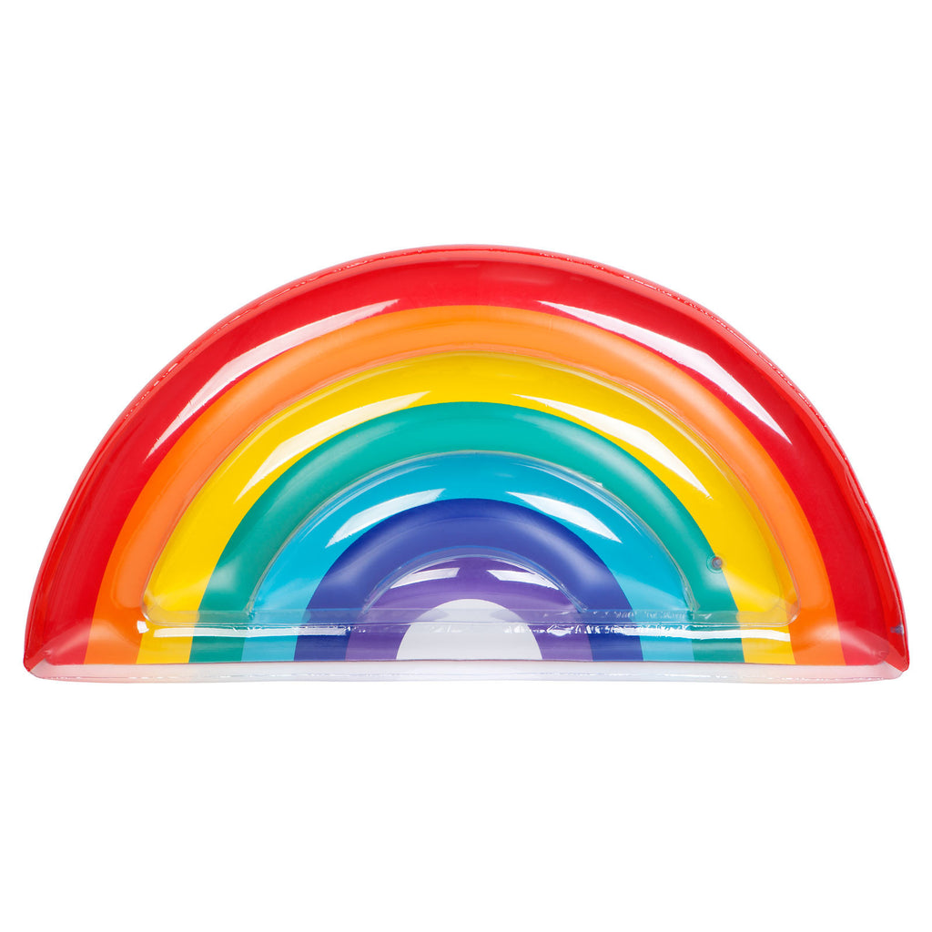 SUNNYLIFE- LUXE LIE-ON FLOAT RAINBOW