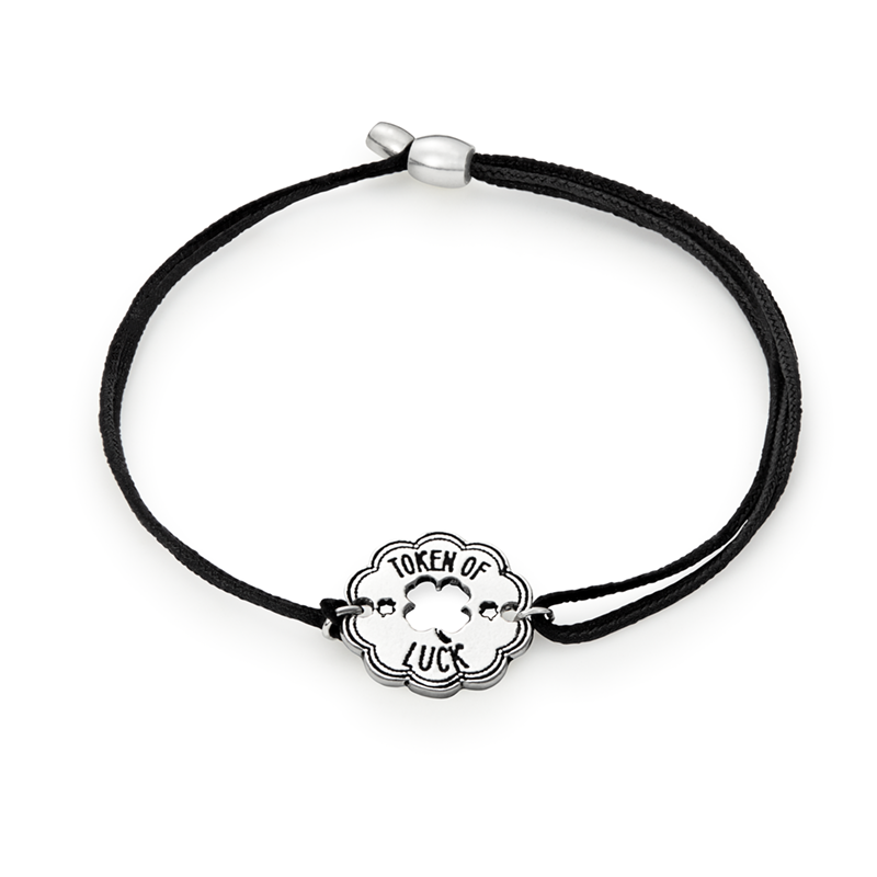 ALEX AND ANI- Token Of Luck Pull Cord Bracelet