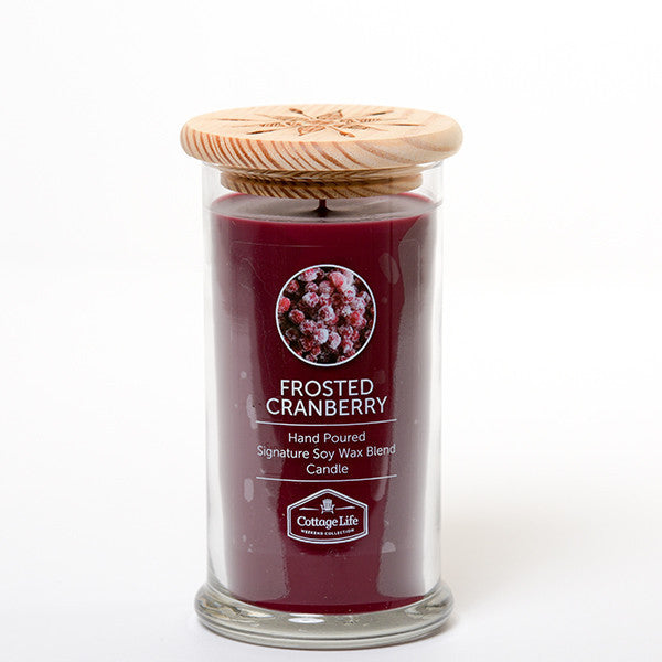 FROSTED CRANBERRY 16OZ - COTTAGE LIFE WEEKEND COLLECTION